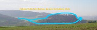 Umlaufberg #2 - Umlaufberg, Bergform, Gleithang, Prallhang, fließendes Wasser
