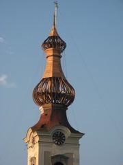 Kirchturmdachrenovierung #2 - Kirche, Kirchturm, Renovierung, Dachstuhl, Zwiebelturm, Sanierung, Instandhaltung, Bausubstanz, Kernsanierung