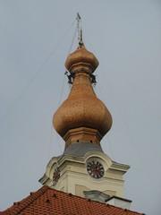 Kirchturmdachrenovierung #4 - Kirche, Kirchturm, Renovierung, Dachstuhl, Zwiebelturm, Sanierung, Instandhaltung, Bausubstanz, Kernsanierung