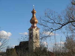 Kirchturmdachrenovierung #6 - Kirche, Kirchturm, Renovierung, Dachstuhl, Zwiebelturm, Sanierung, Instandhaltung, Bausubstanz, Kernsanierung