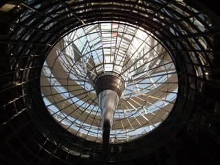 Reichstagkuppel - Reichstag, Berlin, Architektur, Kuppel
