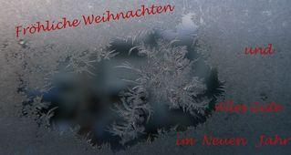 Grußkarte zu Weihnachten #1 - Grußkarte, Weihnachten