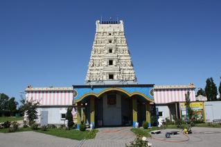 Hindu-Tempel in Hamm-Uentrop #1 - Hindu-Tempel, Hamm-Uentrop, Tempel, Religion, Hinduismus, Sakralbau, Sanskrit