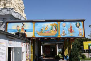 Hindu-Tempel in Hamm-Uentrop  #2 - Hindu-Tempel, Hamm-Uentrop, Tempel, Religion, Hinduismus, Sakralbau, Sanskrit