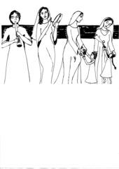 Die Israeliten tanzen - Miriam, Mose, Tanz, Rettung, Gebet, Dank