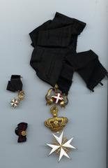 Ehrenkreuz der Devotionalritter des Malteserordens - Orden, Vatikan, Malteser, Ehrenkreuz, Ritterorden
