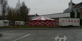 Zirkus - Zirkus, Zelt, Zirkuszelt, Romantik, Symbolik, Schreibanlass