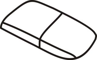 Radiergummi - Radiergummi, Radierer, radieren, Anlaut R