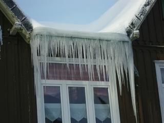 Eiszapfen - Eiszapfen, Eis, Wasser, schmelzen, gefrieren, Fenster, Aggregatzustand