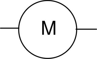 Motor - groß - Motor, Schaltsymbol, Stromkreis
