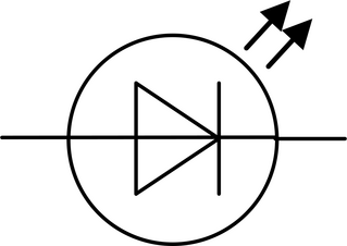 LED - LED, Schaltsymbol, Leuchtdiode, Diode, Stromkreis