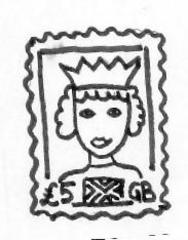 Briefmarke - Stamp - Briefmarke, stamp, sammeln, Brief