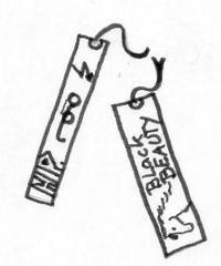 Lesezeichen - Lesezeichen, sammeln, bookcards, bookmark, Lesen, Anlaut L