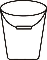 Eimer - Eimer, Kübel, Putzeimer, putzen, Behälter, Wasser, Anlaut Ei