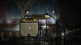 Metro Louvre - Metro, Jugendstil, Louvre, Paris, Métro, Sehenswürdigkeit, Art Nouveau