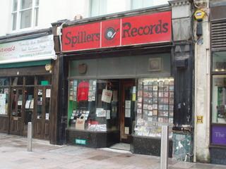 Spillers Records in Cardiff / Wales - Records, Platten, Wales, Schallplatten, Geschäft, Laden, verkaufen, Schallplattenladen, Plattenladen