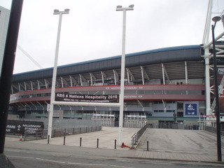 Millennium Stadium in Cardiff / Wales - Millennium Stadium, Stadion, Cardiff, Wales