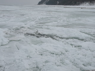 Die Ostsee im Winter - Ostsee, Binnenmeer, Eis, Winter, Usedom