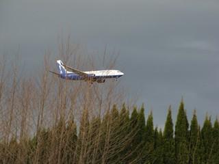 Flugzeug #2 - Flugzeug, Linienmaschine, fliegen, verreisen, Urlaub, Auftrieb