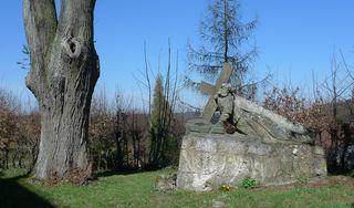 Christusfigur - Kreuz, Christus, Fränkische Schweiz, Andacht, Besinnung, Meditation, Gebet, Glaube, Kreuzweg, Passion, Wallfahrt, Sandstein