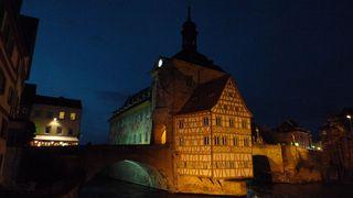 Rathaus in Bamberg - Franken, Bamberg, Rathaus, Bayern, Deutschland, Architektur, Fachwerk, Barock