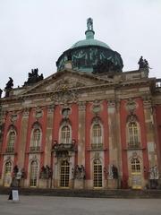 Potsdam Neues Palais - Schloss, Berlin, Potsdam, Friedrich II, Geschichte, Architektur