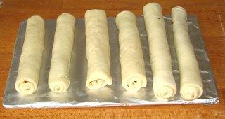 Olivenschnecken #3 - Partygebäck, Snack, pikant, salzig, Hefegebäck, Hefeteig, rollen, aufrollen