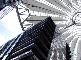 Berlin - Potsdamer Platz - Deutschland, Architektur, Berlin, Potsdamer Platz, Sony Center, Kuppel