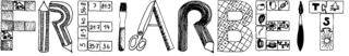 Freiarbeit Titelgrafik - Freiarbeit, Titelgrafik, Beschriftung, Karteibeschriftung, Kopf FA-Arbeitsblatt, Schriftgestaltung, Schrift