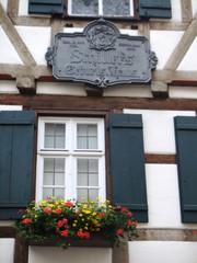 Schillers Geburtshaus #2 - Schiller, Klassik, Literatur, deutsche Literatur, Fachwerkhaus, Marbach, Architektur