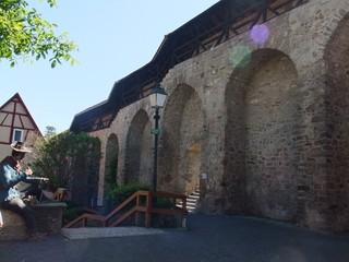 Mittelalterliche Stadtmauer #2 - Stadtmauer, Befestigung, Verteidigung, Mittelalter, Architektur