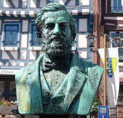 Johann Philipp Reis - Telefon, Reis, Physiker, Erfinder, Denkmal, Büste
