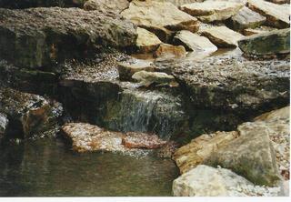 Steine mit Wasser - Wasser, Steine, Bach, Ruhe, Meditation