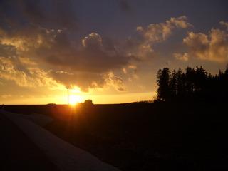 Sonnenuntergang - Sonne, Sonnenuntergang, Gegenlicht