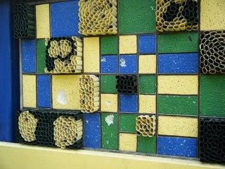 Insektenhotel #4 - Insektenhotel, Insekten, Wildbienen, Bienenhotel, Wespen, Bruthilfe, Höhlung, Nisthilfe, Überwinterungshilfe, Insektenhaus, Insektenschutz, Nistkästen, Vogelhaus, Naturmaterial
