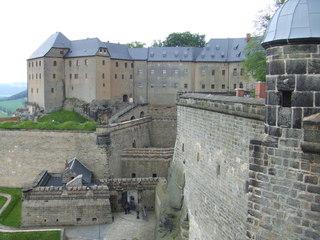 Königstein - Bastei, Sachsen, Elbsandsteingebirge, Elbe, Sandstein, Natur, Königstein, Festung, Burg, Gebirge, Mauer