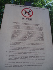 No dogs! Edinburgh Burial Grounds - Edinburgh, Hund, Verbot, Friedhof