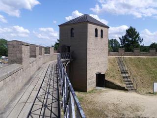 römischer Wachturm + Stadtmauer 1 - Geschichte, Römer und Germanen, Xanten, Niederrhein
