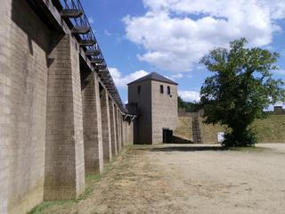 römischer Wachturm + Stadtmauer 2 - Geschichte, Römer und Germanen, Wachturm, Stadtmauer, Xanten, Niederrhein
