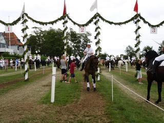 Ringreiten 3 - Skandinavien, Dänemark, Insel Als, Ringreiter, Ringreiterfest, Traditionen, Pferdesport, Ring, Lanze, Turnier, Einzelsport, Mannschaftssport