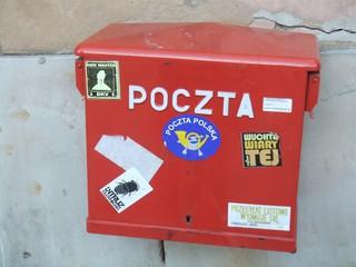 Briefkasten - Post, Polen, Briefkasten