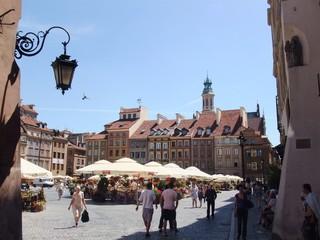 Warschau #4 - Warschau, Polen, Markt, Altstadt