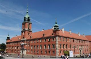 Warschau #5 - Warschau, Polen, Architektur, König, Schloss