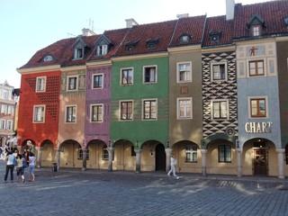 Posen - Posen, Polen, Architektur, Lauben