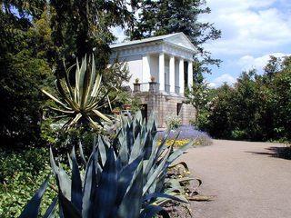 Floratempel im Wörlitzer Park - Deutschland, Sachsen-Anhalt, UNESCO Weltkulturerbe, Kulturlandschaft, Gartenreich Dessau, Wörlitzer Park, Floratempel, Kakteen, Wörlitz, Tempel