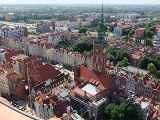 Danzig#1  - Danzig, Polen, Architektur, Rechtstadt, Langgasse, Stadt, Städtebau, Hansestadt