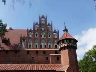 Marienburg #2 - Marienburg, Malbork, Polen, Ordensburg, Deutscher Orden, Mittelalter, Ritter, Burg, Burganlage, Backsteinbau, Architektur, Kloster, Klosteranlage
