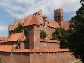 Marienburg #3 - Marienburg, Malbork, Polen, Ordensburg, Deutscher Orden, Mittelalter, Ritter, Burg, Burganlage, Backsteinbau, Architektur, Kloster, Klosteranlage