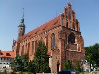 Dominikanerkirche in Slupsk - Kirche, Dominikaner, Gotik, Architektur, Backstein