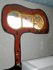 Hundertwasser Markthalle #3 - Hundertwasser, Friedensreich, Schweiz, Kunst, Objekt, Gebäude, Markthalle, Hundertwasserhaus, bunt, Fenster